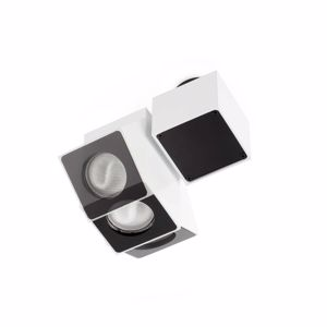 Picture of FARO SQUAD CEILING SPOTLIGHT WHITE ADJUSTABLE FOR DRESSING