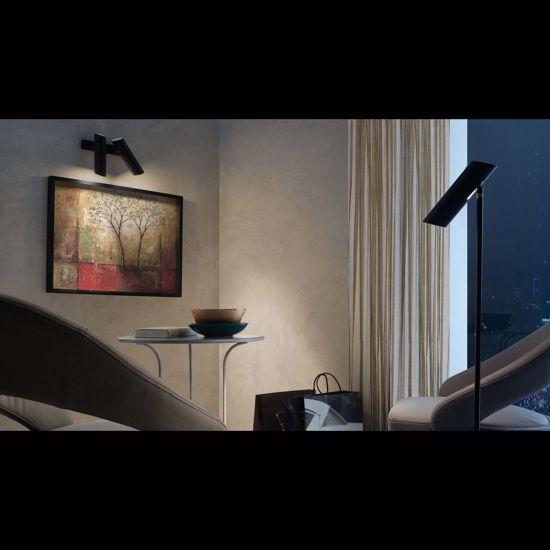 Picture of FARO LINK FLOOR READING LAMP BLACK