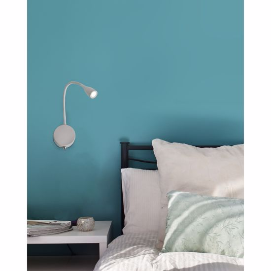 Picture of WALL LAMP WITH CLIP ADJUSTABLE LED WHITE