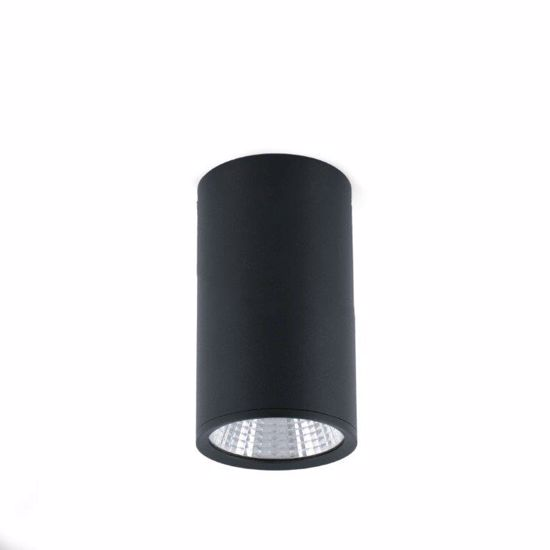 Picture of FARO REL CEILING SPOT LED 25W BLACK MODERN DESIGN CYLINDRIC