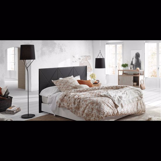 Picture of FARO TREE BLACK FLOOR LAMP WITH SHADE
