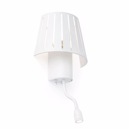 Picture of FARO MIX WALL BEDSIDE LAMP WITH DOUBLE LIGHT LED WHITE