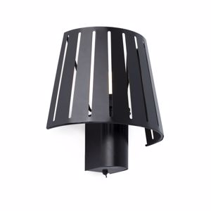 Picture of FARO MIX WALL LAMP BLACK WITH SWITCH