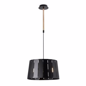 Picture of MODERN KITCHEN ISLAND PENDANT LIGHT BLACK DESIGN IN PERFORATED METAL BODY