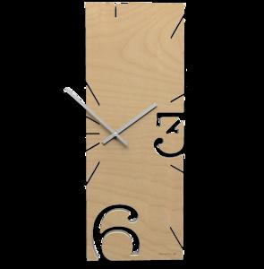 Picture of CALLEA DESIGN LIGHT WALNUT WALL CLOCK GREG