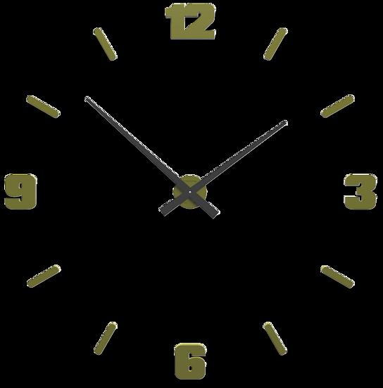 Picture of CALLEA DESIGN Ø100 CM BIG MODULAR CLOCK OLIVE GREEN