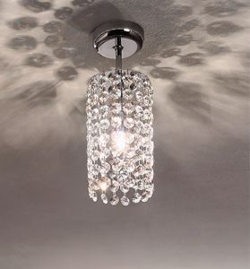 Picture of ANTEA LUCE IKE SPOT CEILING CYLINDER IN FACETED CRYSTAL 30% LEAD