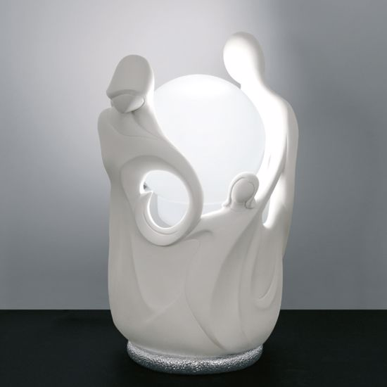 Picture of MEMORY LED TABLE LAMP SCULPTURE SACRED FAMILY