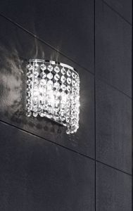 Picture of WALL LIGHT TRANSPARENT CRYSTALS ANTEA LUCE KEY