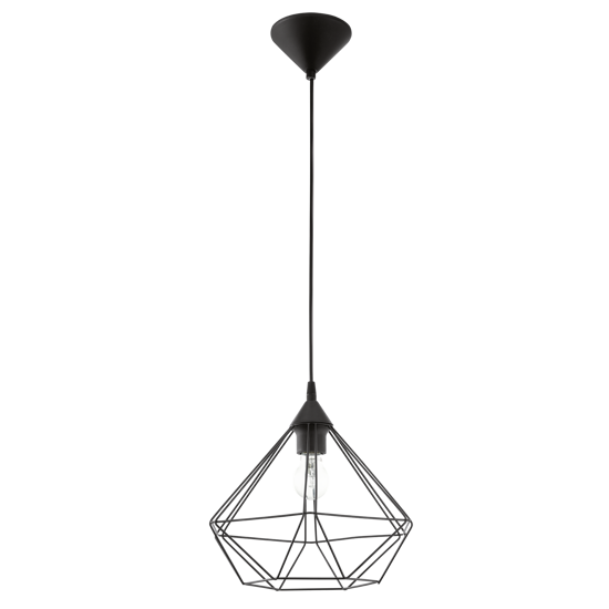 Picture of EGLO TARBES ECONOMIC SUSPENSION DESIGN VINTAGE BLACK STEEL