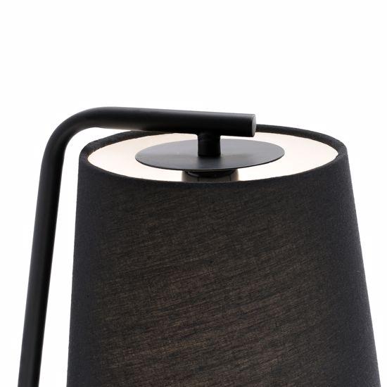 Picture of FARO BARCELONA BERNI BLACK WALL BEDSIDE LAMP SWITCH