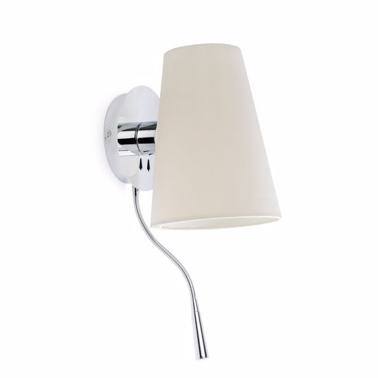 Picture of FARO BARCELONA LUPE DOUBLE WALL BEDSIDE LAMP LED READER