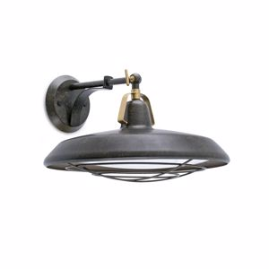 Picture of FARO BARCELONA PLEC WALL LAMP OUTDOOR IP44 LED IN VINTAGE INDUSTRIAL STYLE