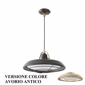 Picture of FARO BARCELONA PLEC SUSPENSION VINTAGE LED COVERED OUTDOOR IP44