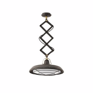 Picture of FARO BARCELONA PLEC SUSPENSION LED OUTDOOR IP44 EXTENSIBLE VINTAGE STYLE