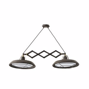 Picture of FARO BARCELONA PLEC SUSPENSION LED VINTAGE OUTDOOR INDOOR IP44