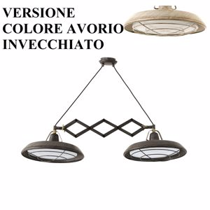 Picture of FARO BARCELONA PLEC SUSPENSION LED IN VINTAGE OUTDOOR INDOOR IP44