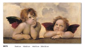 Picture of MANIE WALL ARTWORK ANGELS 200X120