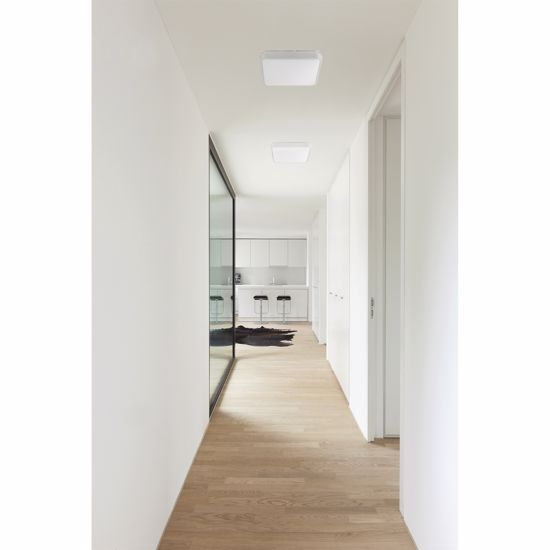 Picture of SQUARE LED CEILING LIGHT 29X29 20W 3000K MODERN SLIM DESIGN