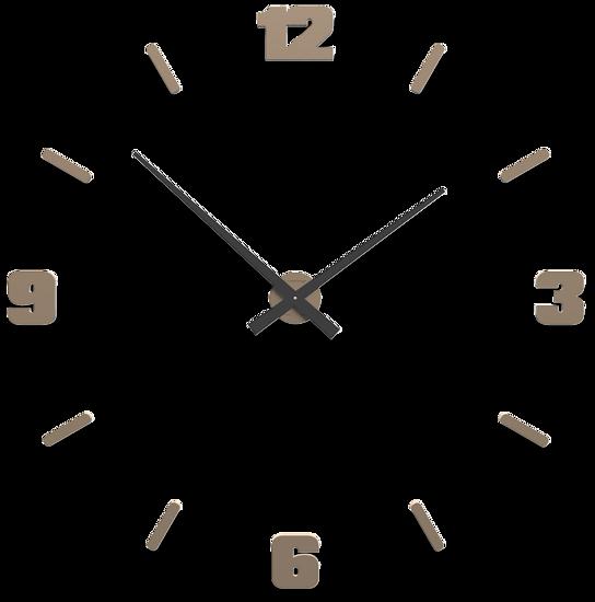 Picture of CALLEA DESIGN Ø100 CM BIG MODULAR CLOCK ANTIQUE CAFFELATTE