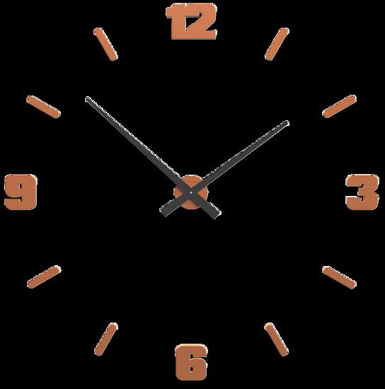 Picture of CALLEA DESIGN Ø100 CM BIG MODULAR CLOCK ANTIQUE TERRACOTTA