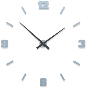 Picture of CALLEA DESIGN Ø100 CM BIG MODULAR CLOCK POWDER BLUE