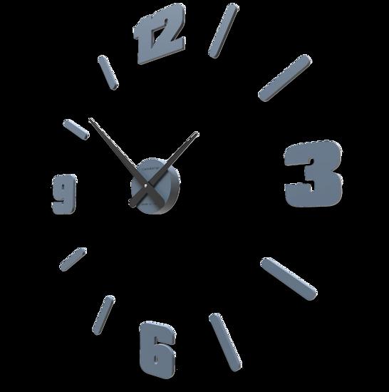 Picture of CALLEA DESIGN Ø100 CM BIG MODULAR CLOCK MID BLUE