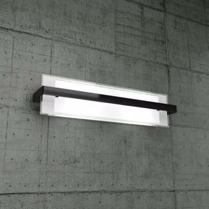 Picture of TOPLIGHT CROSS MODERN WALL LAMP BIG SIZE BLACK