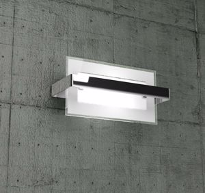 Picture of TOPLIGHT CROSS WALL LAMP SMALL SIZE CHROME