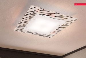 Picture of TOPLIGHT SCRAPS CEILING LAMP MODERN SQUARE CM60