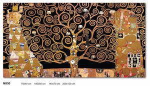 Picture of WALL ARTWORK THE TREE OF LIFE GUSTAV KLIMT LARGE CANVAS PRINT 200X120