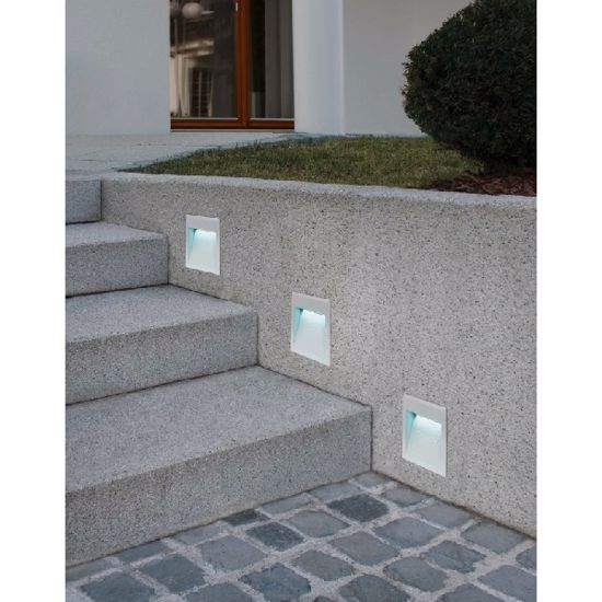 Picture of EGLO RECESSED WALL PATHMARKER  LED SQUARE FOR OUTDOOR