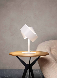 Picture of MARCHETTI PURA BEDSIDE LAMP WHITE