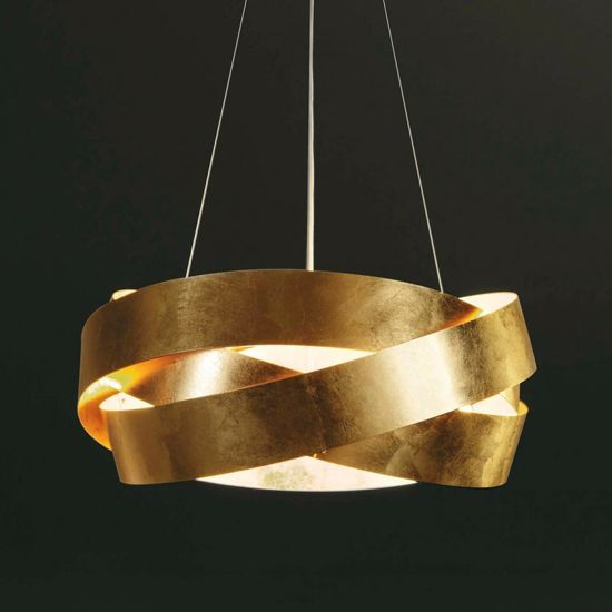 Picture of MARCHETTI PURA LED CHANDELIER Ø60CM GOLD LEAF