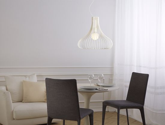 Picture of IVORY VITNAGE PENDANT LIGHT Ø50CM GIBAS TITTI