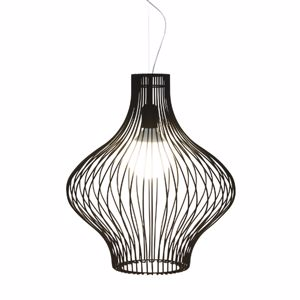 Picture of GIBAS TITTI BLACK SUSPENSION LIGHT Ø45CM MODERN DESIGN