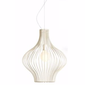 Picture of GIBAS TITTI IVORY SUSPENSION LIGHT Ø45CM MODERN DESIGN