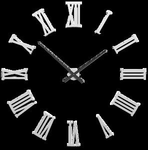 Picture of CALLEA DESIGN DA VINCI BIG MODULAR WALL CLOCK Ø124CM WHITE ROMAN NUMERALS