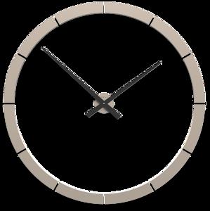 Picture of CALLEA DESIGN GIOTTO BIG WALL STICKER CLOCK Ø100CM SAND COLOURED