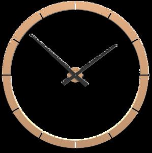 Picture of CALLEA DESIGN GIOTTO BIG WALL STICKER CLOCK Ø100CM LIGHT PEACH