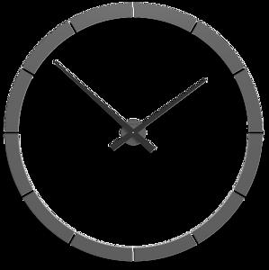 Picture of CALLEA DESIGN GIOTTO BIG WALL STICKER CLOCK Ø100CM  QUARTZ GREY