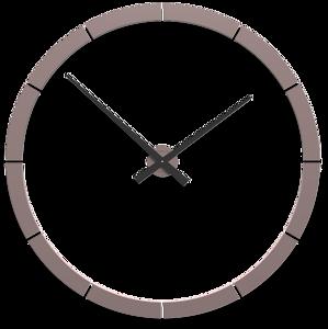 Picture of CALLEA DESIGN GIOTTO BIG WALL STICKER CLOCK Ø100CM GREY PLUME