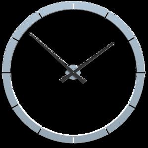 Picture of CALLEA DESIGN GIOTTO BIG WALL STICKER CLOCK Ø100CM LIGHT BLUE