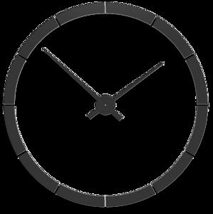 Picture of CALLEA DESIGN GIOTTO BIG WALL STICKER CLOCK Ø100CM BLACK