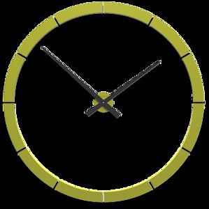 Picture of CALLEA DESIGN GIOTTO BIG WALL STICKER CLOCK Ø100CM CEDAR GREEN