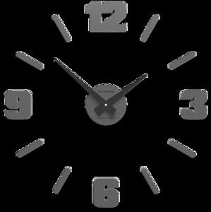 Picture of CALLEA DESIGN MICHELANGELO BIG MODULAR WALL CLOCK  Ø100CM QUARTZ GREY COLOURED