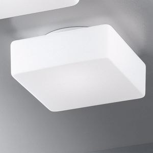 Picture of ANTEA LUCE KREA QUADRA WALL CEILING 23CM WHITE GLASS