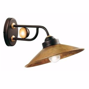 Picture of GIBAS RUA RUSTIC WALL LAMP IN METAL