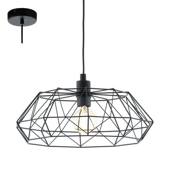 Picture of VINTAGE PENDANT LIGHT BLACK CHEST MINIMAL STYLE