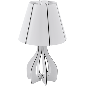 Picture of EGLO COSSANO TABLE LAMP Ø25,5CM WHITE
